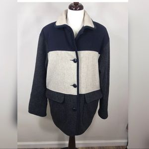 Herman Kay Coat Vintage Wool Blend Size 6